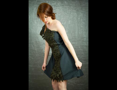 Elegantní dámské šaty
